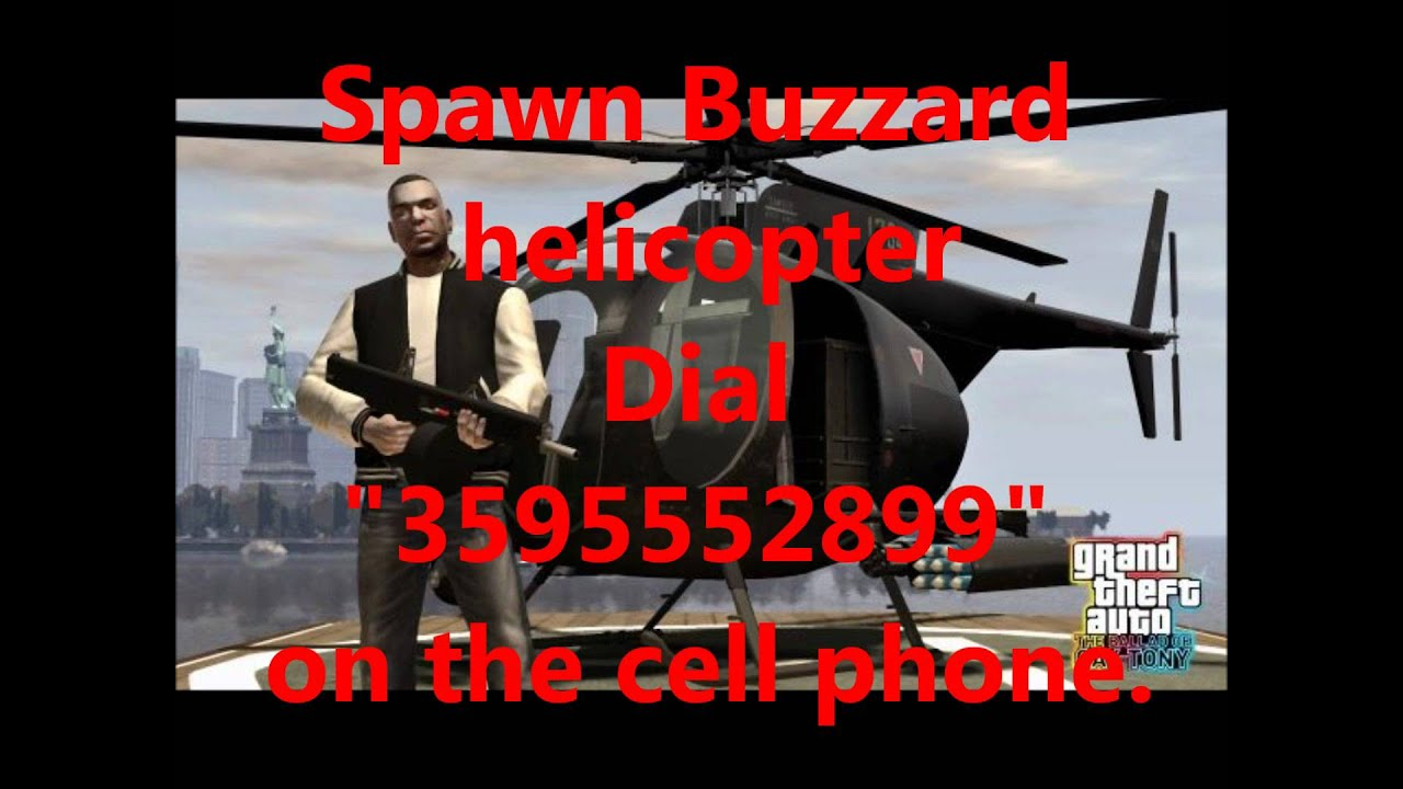Guns Gta iv Gta iv Buzzard Chopper Cheat