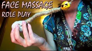 Relaxing Face Massage ASMR Role Play