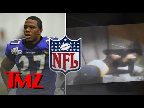 Ray Rice Knocks Out His Fiancée – The Video