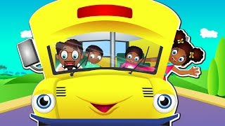 Wheels on the Bus in Twi Akan | Twi Baby Songs | The Wheels on the Bus Ghana Version for Kids