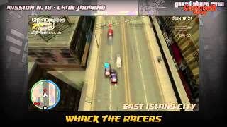 Grand Theft Auto Chinatown Wars Walkthrough - Mission #10 - Whack the Racers Game Video Walkthroughs