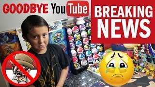 YOUTUBE IS SHUTTING OUR CHANNEL DOWN. Goodbye?...