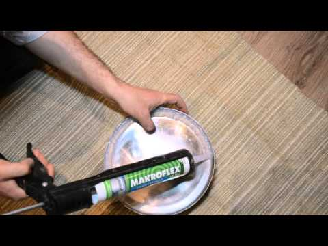 Сделать силиконовую прокладку