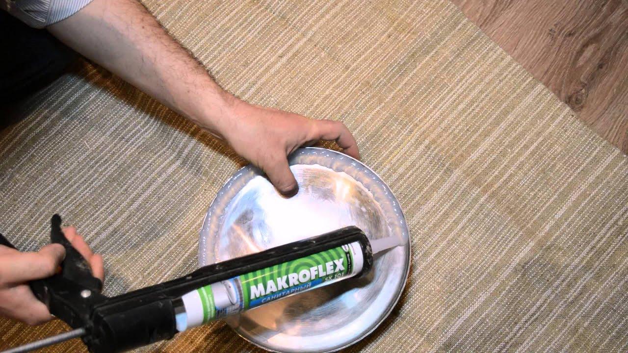 Как сделать цветной силиконовый герметик в домашних условиях
