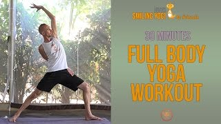 Full body yoga workout - 30 minutes (free, full class)