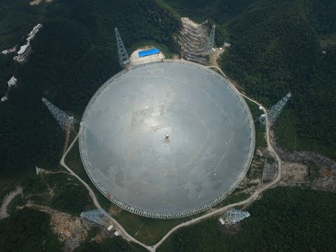 What makes world's largest radio telescope so extraordinary