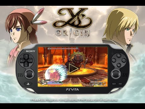 Ys Origin - Coming out on PSVita