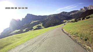 Seiseralm - Alpe di Siusi - Mountain Bike - Ritsch to Saltria on board