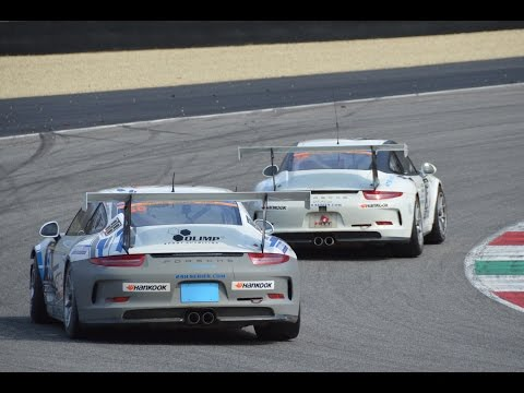PURE SOUND! Porsche 911 GT3 Cup racing