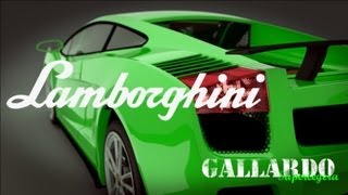 Blender Lamborghini Gallardo Superleggera 3d model Cycles