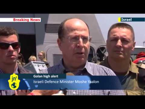 Israeli Defence Minister Moshe Yaalon: Jerusalem will not tolerate any Syrian War spillover