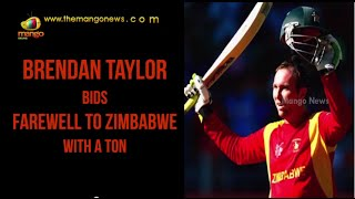 Brendan Taylor bids farewell to Zimbabwe with a ton | ICC World Cup 2015