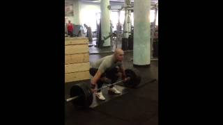 Стас Hang Squat Snatch 1RM 90kg