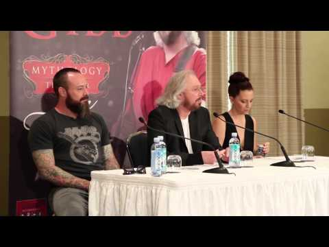 Barry Gibb media conference - part 1
