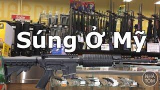 Cuộc sống ở Mỹ: Đi chợ coi súng và xài thẻ Vietcombank trả tiền