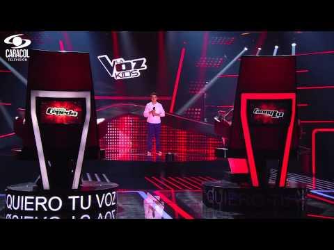 Juan Esteban cantó 'El triste' de Roberto Cantoral– LVK Colombia – Audiciones a ciegas – T1