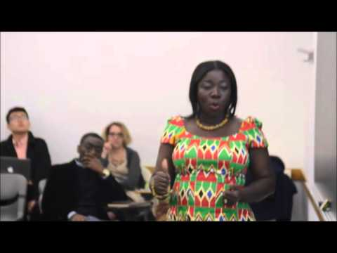 Ghana's Tourism Minister engages New York University Tourism Students