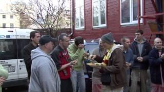 2008.10.21. Arrival In Riga, HG Sankarshan Das Adhikari - Riga, Latvia