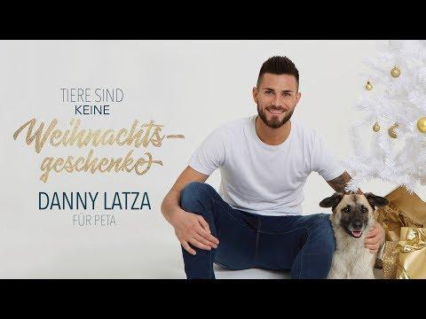 Danny Latza für PETA: Tiere sind keine Weihnachtsgeschenke / PETA