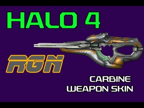 Halo 4: Covenant Carbine RGN Gameplay by Flexcy! (Rogue Weapon Skin)