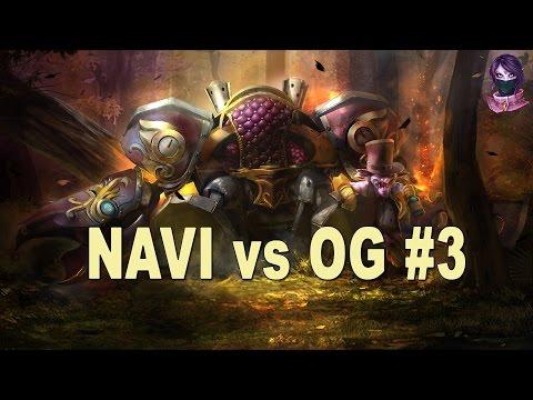 Dota 2 NaVi vs OG HighLights Game 3 | DreamLeague Season 5 Lan Finals