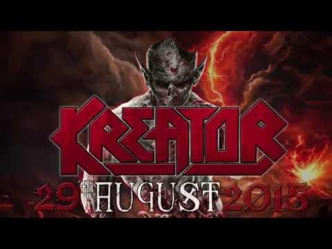 KREATOR LIVE IN CYPRUS 29AUG2015 TEASER