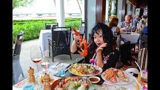 ชันเดย์บรันซ์เริดๆที่ ห้องอาหาร Trader Vic's  Anantara Riverside Bangkok Resort