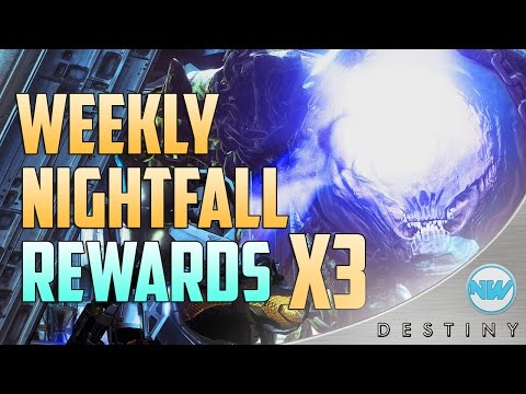 Destiny Weekly Nightfall Strike Rewards x3 | Nightfall Drops Ep. 5 (Phogoth) | Exotic Loot?