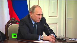 Владимир Путин: Непоставка Украиной газа в Донбасс «попахивает геноцидом»