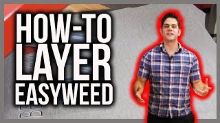 Layering EasyWeed HTV