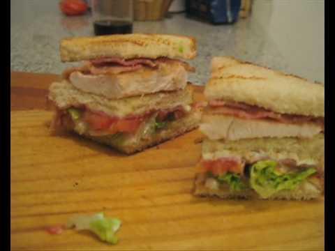 receta de comida: cómo hacer un sandwich club