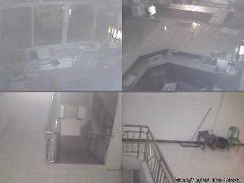 O Bangkok Hotel Security Camera Caught Theives