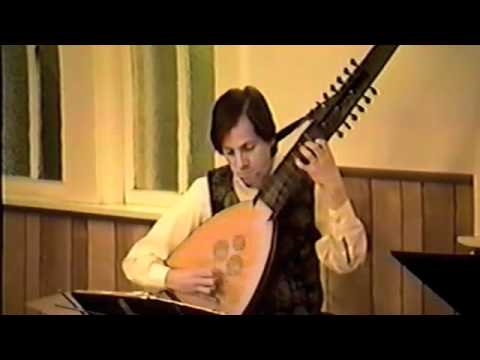J.S. Bach, Prelude BWV 995, David Rogers, archlute