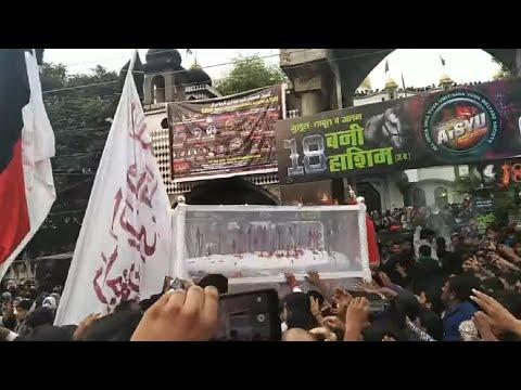 18 Bani Hashim Kanpur 2019 | Taboot Imam Hussain a.s |