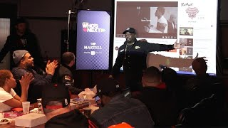 WHO's NEXT MARTELL MUSIC MEETING at HOT 97