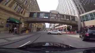 Video tour of downtown Minneapolis, MN (GoPro 1080p)