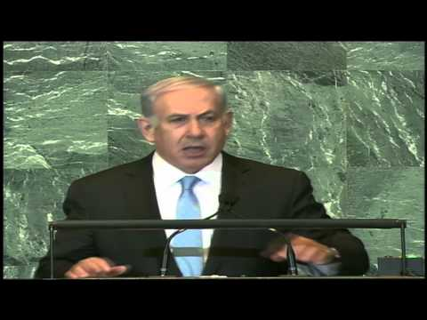 Netanyahu Addresses the UN General Assembly 1/3