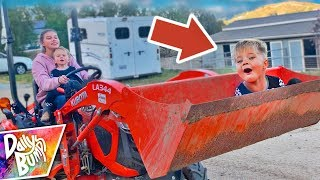 Kids Tractor Adventure at the Barn! 🚜