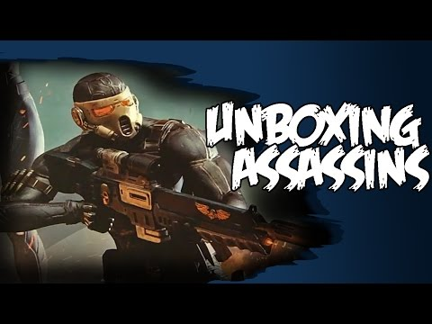 Assassins Execution Force Unboxing - Warhammer 40k