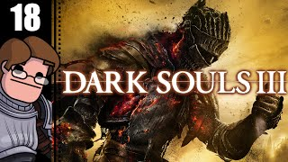 Let's Play Dark Souls 3 Part 18 - Crystal Sage Boss Fight, Sage Ring, Exiled Knights