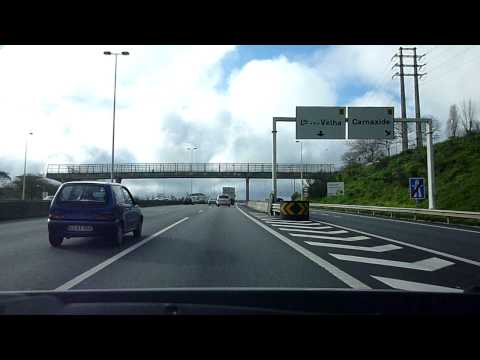 Driving in Portugal: CRIL Alfragide to Parede (1)