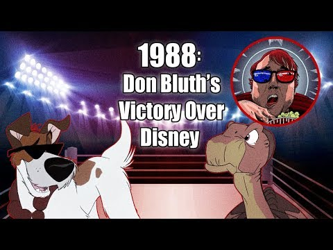 1988: Don Bluth's Victory Over Disney