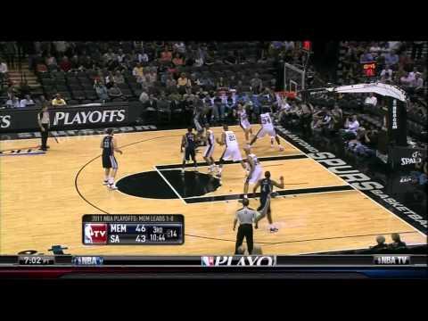 NBA Playoffs 2011: Spurs vs. Grizzlies - Spurs Lucky They Have Manu