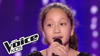 """Lyn - """"I will always love you"""" - (Whitney Houston)    The Voice Kids France 2017   Blind Audition"""