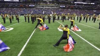 2017 All American Marching Band Halftime Show