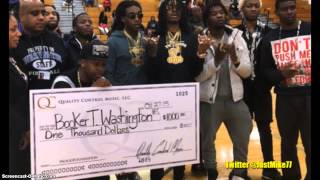 Migos Get Roasted For Posting Wishy Washy $1000 Donation Check On Instagram