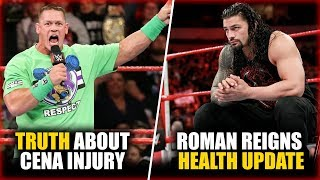 TRUTH About John Cena's Injury, Roman Reigns NEW Health Update | WWE News Hindi