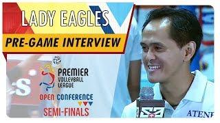 PVL OC 2018: Coach Oliver Almadro   ADMU   BKP vs. ADMU   Pre-game Interview