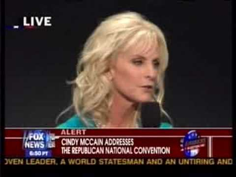 Republican National Convention Cindy McCain Speech Part 2