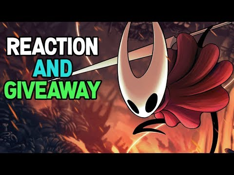 Hollow Knight Silksong Reveal Trailer Reactions and Giveaway